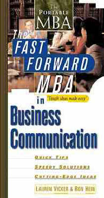 The Fast Forward MBA in Business Communication (Paperback)