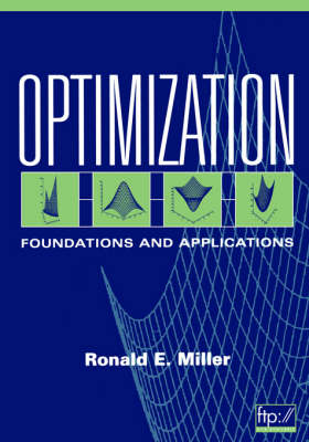 Optimization: Foundations and Applications (Paperback)