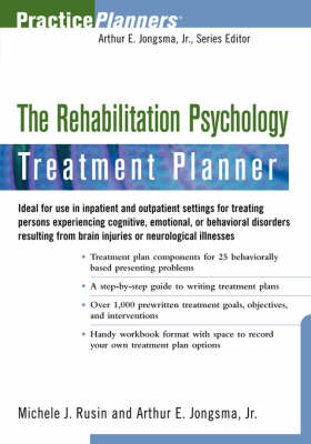 The Rehabilitation Psychology Treatment Planner - PracticePlanners (Paperback)
