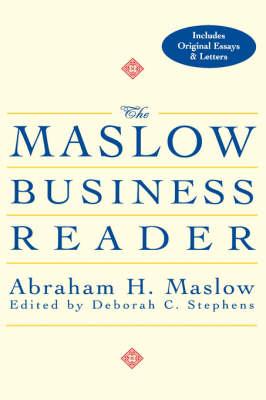 The Maslow Business Reader (Hardback)