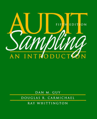 Audit Sampling: An Introduction to Statistical Sampling in Auditing (Paperback)
