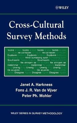 Cross-Cultural Survey Methods - Wiley Series in Survey Methodology (Hardback)
