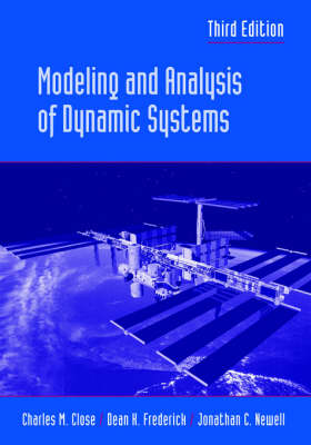 Modeling and Analysis of Dynamic Systems 3E (Paperback)