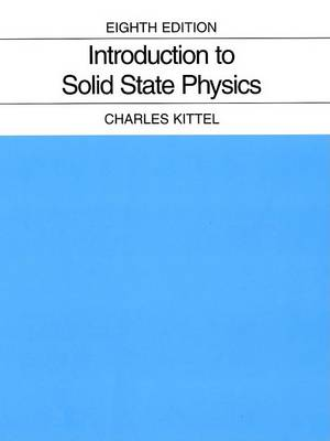 Introduction to Solid State Physics (Hardback)