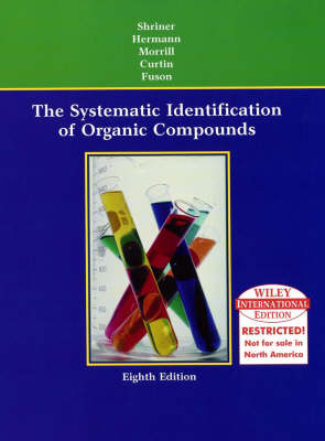 Systematic Identification of Organic Compounds (Hardback)