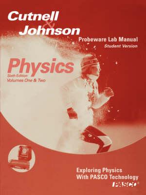 Pasco Laboratory Manual-Student Version to accompany Physics, 6e (Paperback)