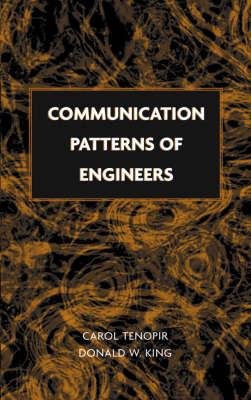 Communication Patterns of Engineers (Hardback)