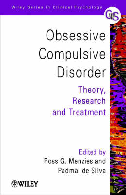 Obsessive-Compulsive Disorder: Theory, Research and Treatment - Wiley Series in Clinical Psychology (Paperback)