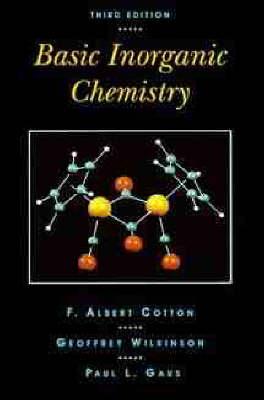 Basic Inorganic Chemistry (Hardback)