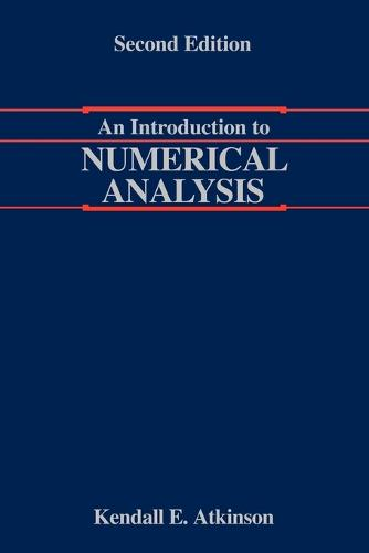 An Introduction to Numerical Analysis (Paperback)