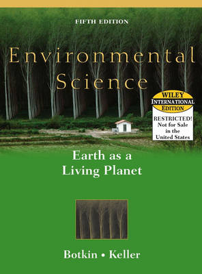 Environmental Science: Earth as a Living Planet (Hardback)