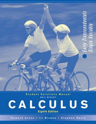 Calculus: Student's Solutions Manual: Early Transcendentals Combined (Paperback)