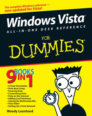 Windows Vista All-in-One Desk Reference For Dummies (Paperback)