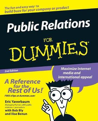 Public Relations For Dummies (Paperback)
