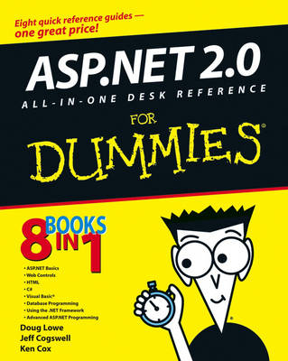 ASP.NET 2.0 All-in-One Desk Reference For Dummies (Paperback)