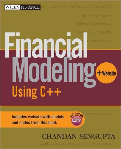 Financial Modeling Using C++ - Wiley Finance (Paperback)