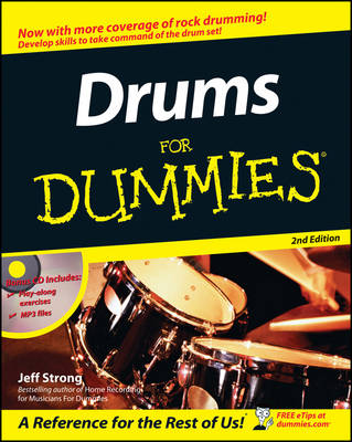 Drums for Dummies, 2nd Edition (Paperback)