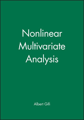 Nonlinear Multivariate Analysis - Wiley Series in Probability and Statistics (Hardback)
