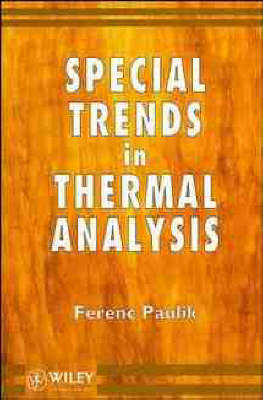 Special Trends in Thermal Analysis (Hardback)