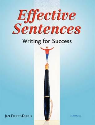 Effective Sentences: Writing for Success (Paperback)