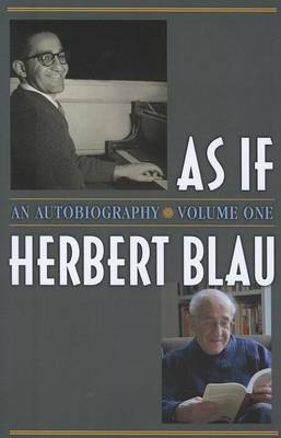 As If: An Autobiography (Paperback)