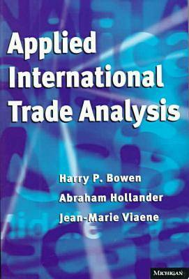 Applied International Trade Analysis - Studies in International Economics (Paperback)