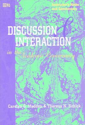 Discussion and Interaction in the Academic Community - English for Academic & Professional Purposes S. (Paperback)
