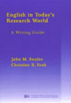 English in Today's Research World: A Writing Guide (Paperback)