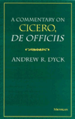 "Commentary on Cicero """"De Officiis (Hardback)"
