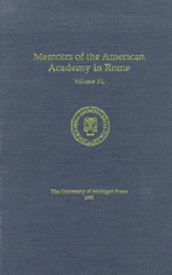 Memoirs of the American Academy in Rome v.40, 1995 (Hardback)