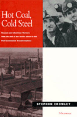 Hot Coal, Cold Steel: Russian and Ukrainian Workers from the End of the Soviet Union to the Post-Communist Transformations (Hardback)