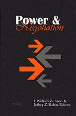 Power and Negotiation (Hardback)