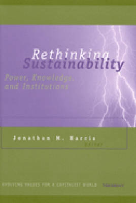 Rethinking Sustainability: Power, Knowledge, and Institutions - Evolving Values for a Capitalist World (Hardback)