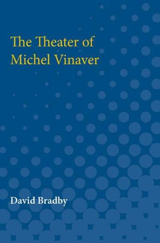 The Theater of Michel Vinaver (Paperback)