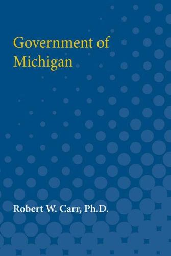 Government of Michigan (Paperback)