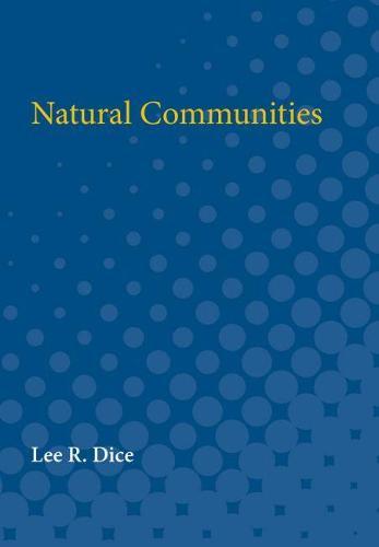 Natural Communities (Paperback)