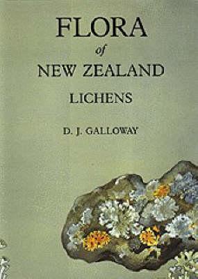 Flora of New Zealand: Lichens - Flora of New Zealand (Hardback)