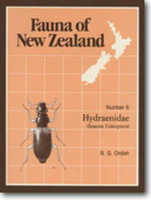 Fauna of New Zealand Number 6: Hydraenidae (Insecta: Coleoptera) - Fauna of New Zealand (Paperback)