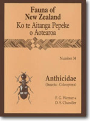 Fauna of New Zealand Number 34: Anthicidae (Insecta: Coleoptera) - Fauna of New Zealand (Paperback)