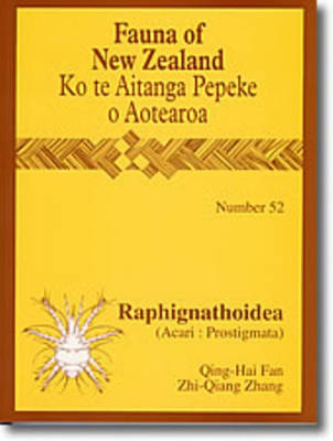 Fauna of New Zealand Number 52: Raphignathoidea - Fauna of New Zealand (Paperback)