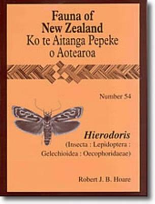 Fauna of New Zealand Number 54: Hierodoris - Fauna of New Zealand (Paperback)
