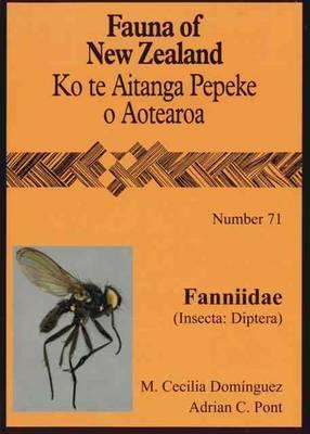 Fanniidae Insecta Diptera: 71 - Fauna of New Zealand (Paperback)