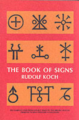 The Book of Signs - Dover Pictorial Archive (Paperback)