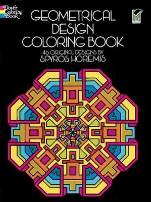 Geometrical Design Coloring Book - Dover Design Coloring Books (Paperback)