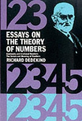 Essays on the Theory of Numbers - Dover Books on Mathematics (Paperback)
