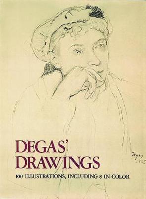 Degas' Drawings - Dover Fine Art, History of Art (Paperback)