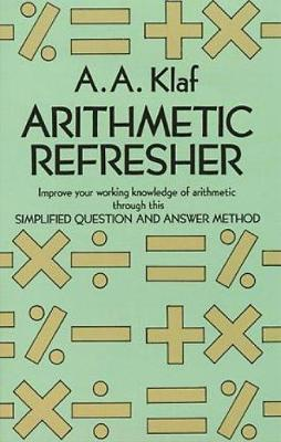 Arithmetic Refresher - Dover Books on Mathematics (Paperback)