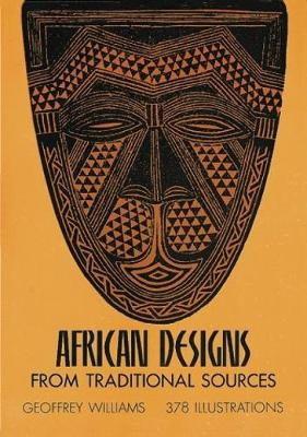 African Designs from Traditional Sources - Dover Pictorial Archive (Paperback)