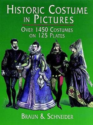Historic Costume in Pictures - Dover Fashion and Costumes (Paperback)