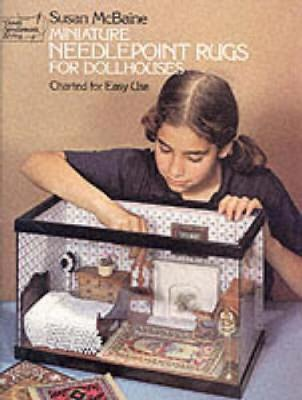 Miniature Needlepoint Rugs for Dolls Houses (Paperback)